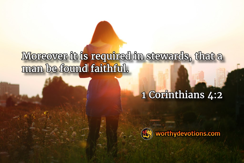 Remain Faithful!