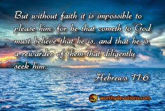 Have Abundant Faith!
