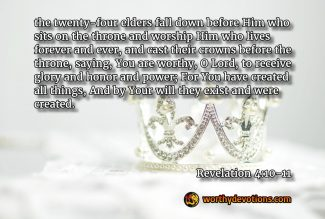 Where is your crown?