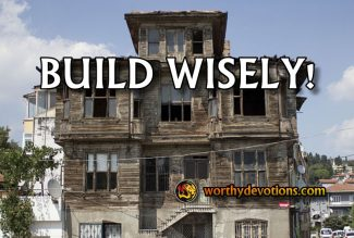 Build Wisely!